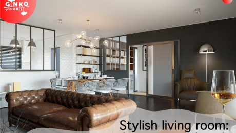 Stylish living room: choose your own modern style