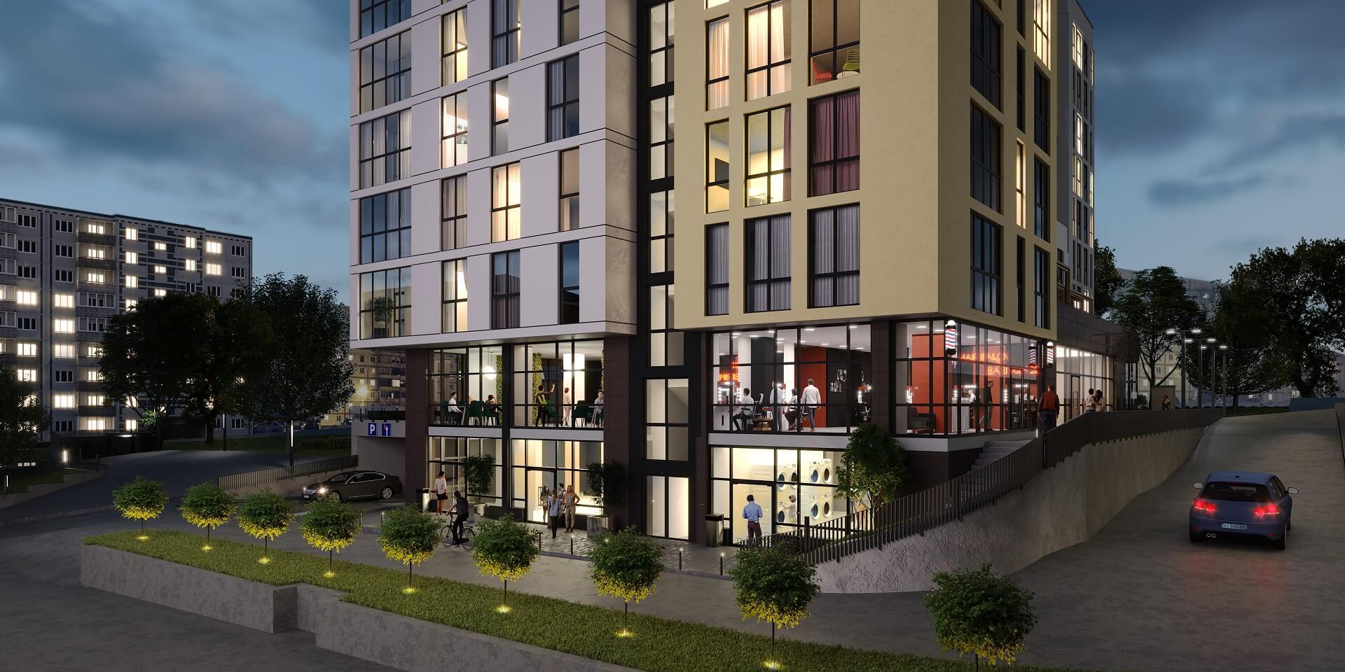 Residential complex «Forward», Kyiv, Ukraine