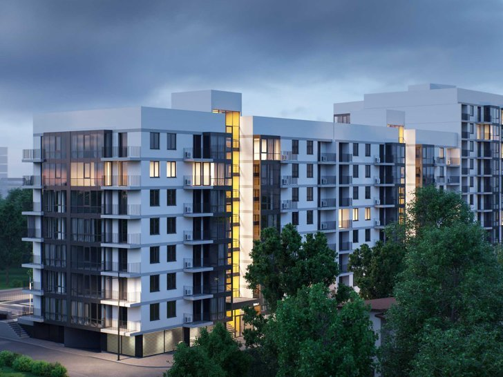 INTERACTIVE MASTER PLAN OF RESIDENTIAL COMPLEX AVALON LIGHT, UKRAINE