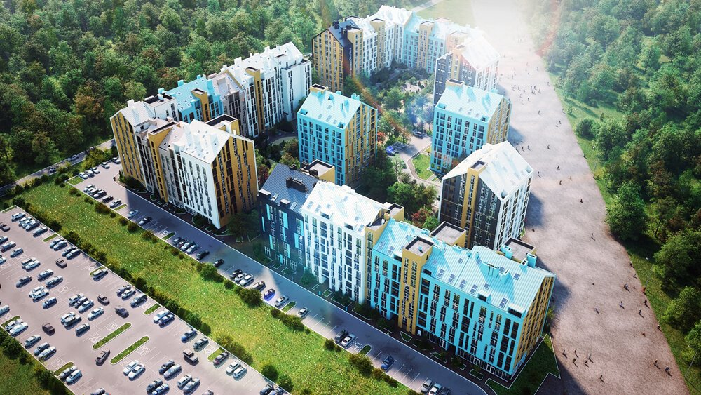 RESIDENTIAL COMPLEX LEOPOL TOWN, UKRAINE
