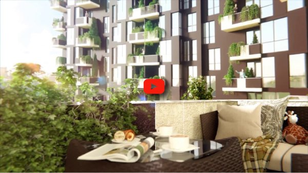 Residential complex Panska Vertical, interior design